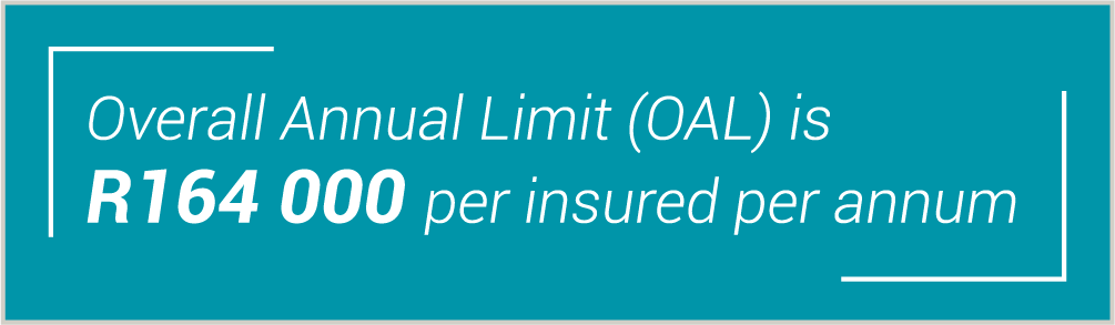 Overall annual limit 2020 Gap Cover Policies by Turnberry
